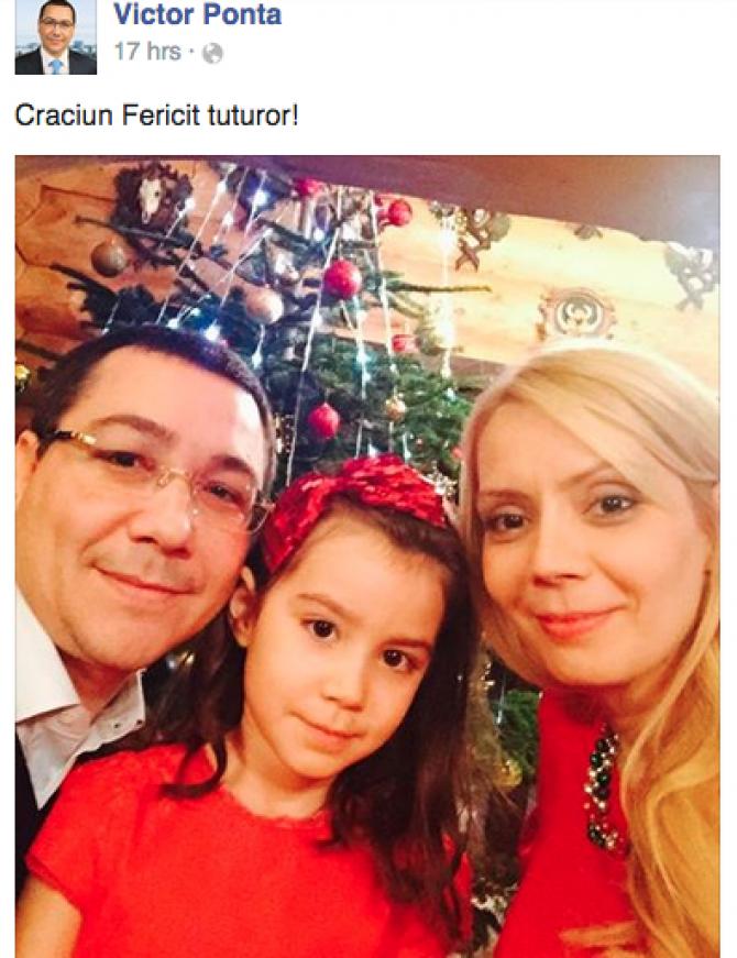 Foto: Captură Facebook Victor Ponta