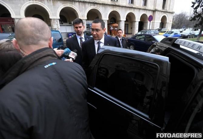 Victor Ponta, la sediul DC News