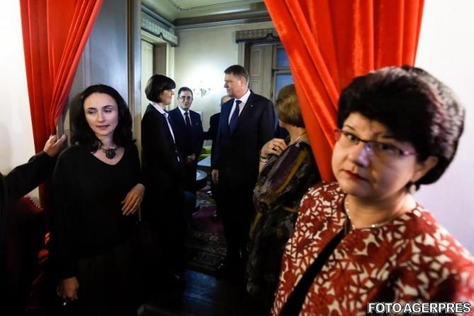 Laura Codruta Kovesi, Klaus Iohannis