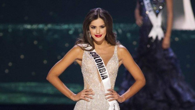 El Blog Info Ultima Noche En Las Vegas: Miss Universe 2015. Paulina Vega, Reprezentanta Columbiei