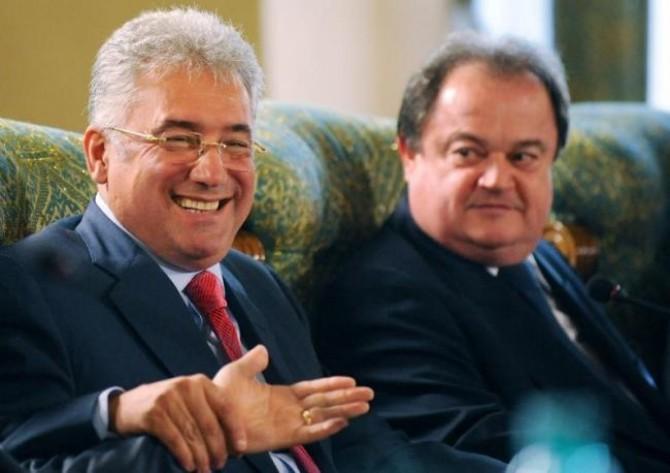 Vasile Blaga și Adriean Videanu