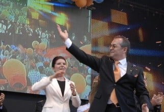 Emil Boc și Monica Iacob Ridzi