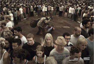 Ignorați-ne, ignorați drepturile omului!