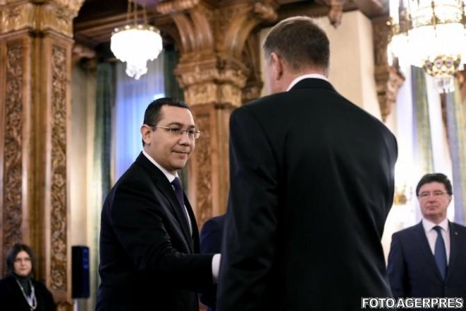 Klaus Iohannis-Victor Ponta