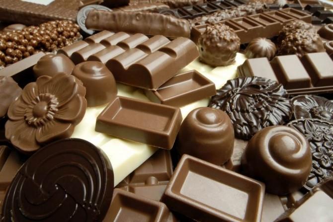 Bomboane ciocolată