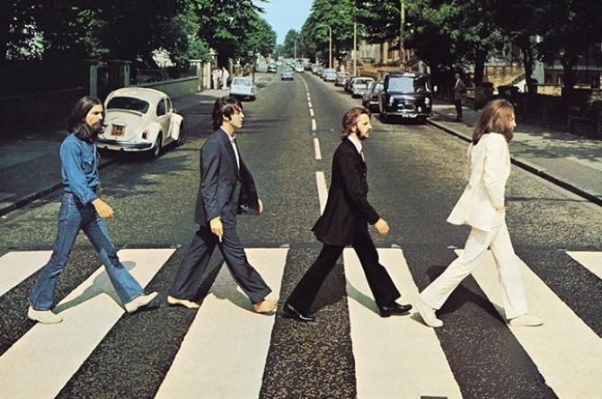 """Coperta albumului """"Abbey Road"""""""