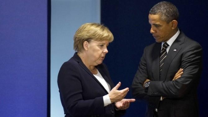 Obama - Merkel, intrevedere