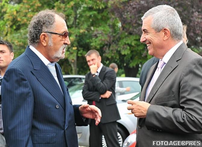 Ion Tiriac, Calin Popescu Tariceanu