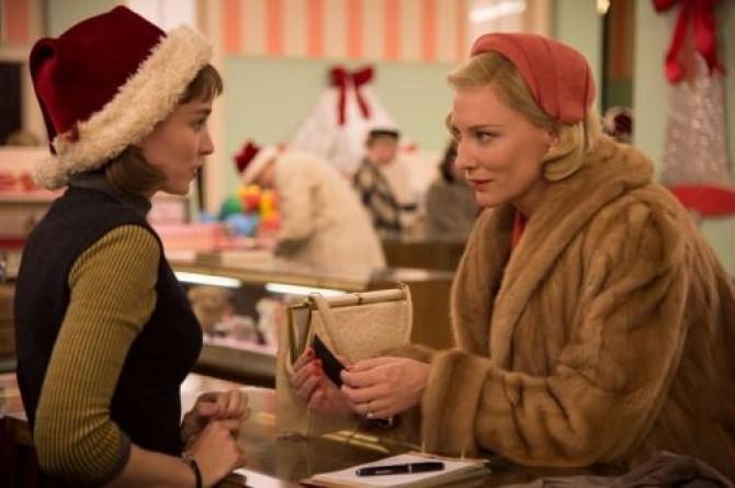 Carol și Therese, Blanchett și Rooney Mara