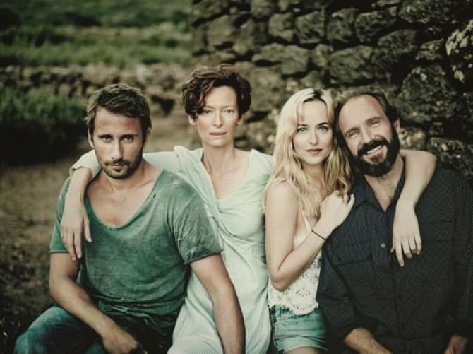 Echipa filmului The Bigger  Splash
