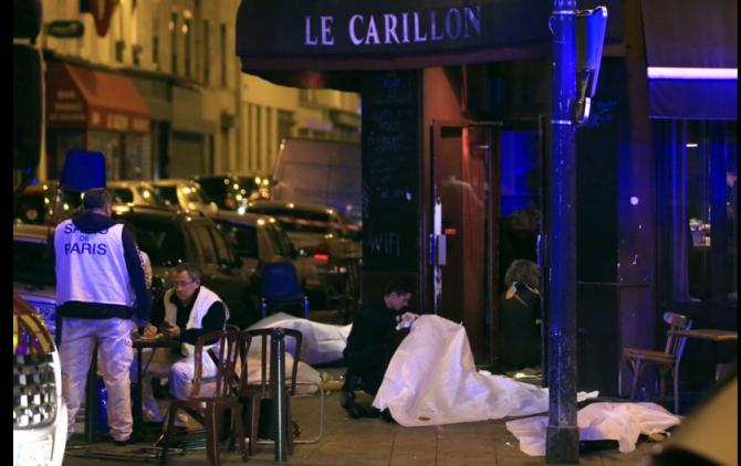 Atac terorist Paris 13 noiembrie