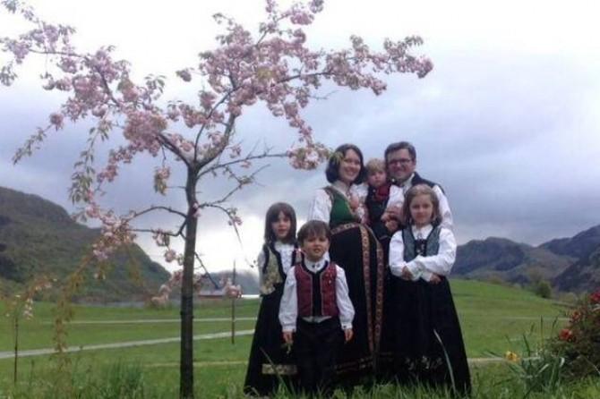 Familia Bodnariu - Norvegia