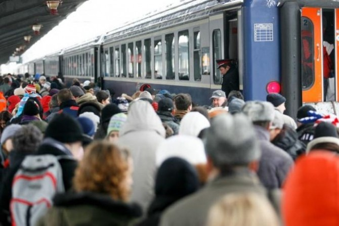 Trenuri - gara - CFR