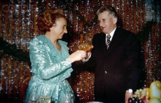 Nicolae si Elena Ceausescu