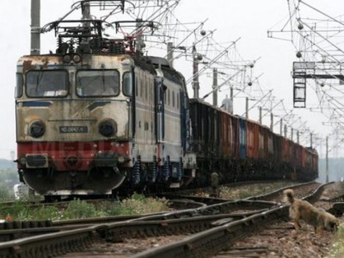Copil electrocutat pe tren