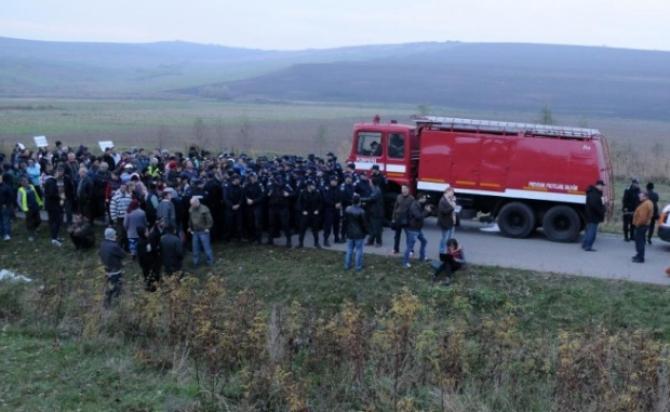 Protestele care au dus la referendumul de la Pungești