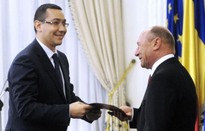 Ponta - Basescu