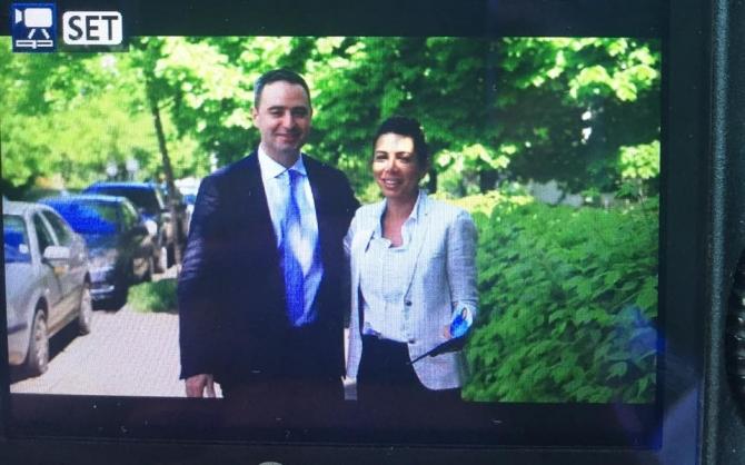 Alexandru Nazare și Laura Chiriac. Foto: Facebook: Laura Chiriac