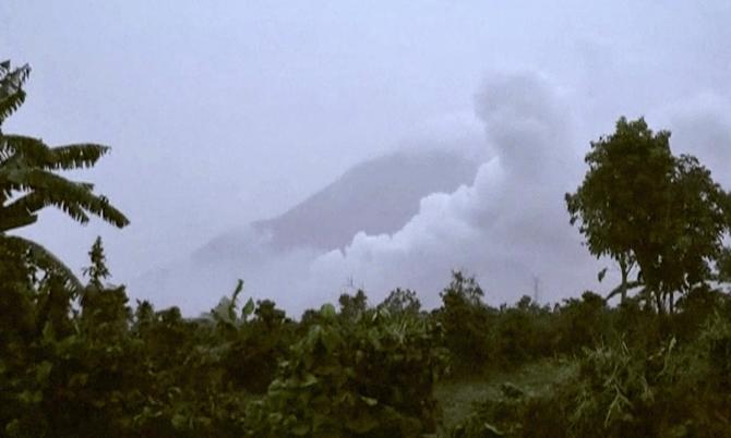 Erupție vulcanică - imagine ilustrativă