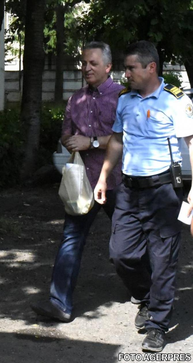 Relu Fenechiu a fost adus, joi,  la DNA Ploiești pentru declarații în dosarul în care este acuzat