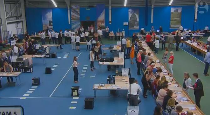 Descriere: Astfel se numără voturile de la referendum