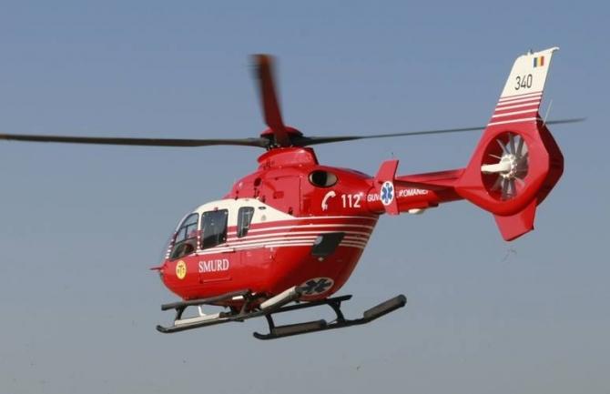Elicopterul SMURD a intervenit la un accident grav în județul Ialomița.
