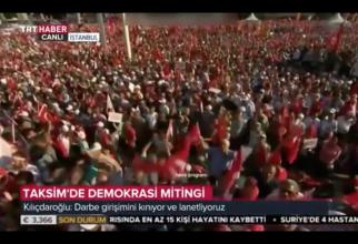 Protest în Istanbul