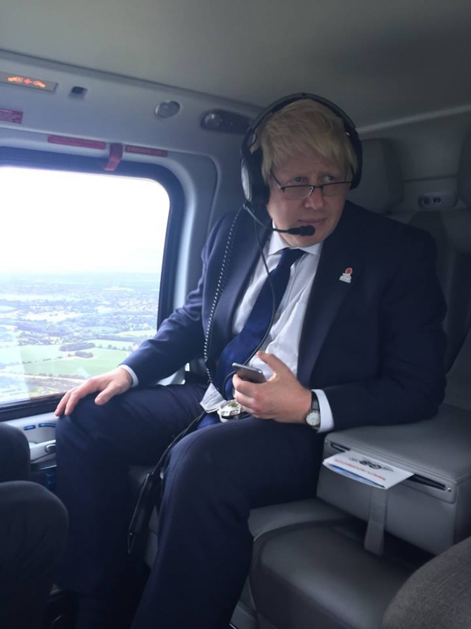 Foto: Facebook Boris Johnson