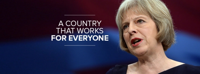 Foto: Facebook Theresa May