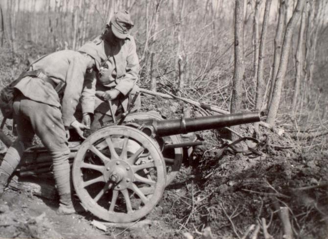 Soldați în Primul Război Mondial