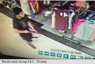 Imagine cu suspectul căutat de poliție