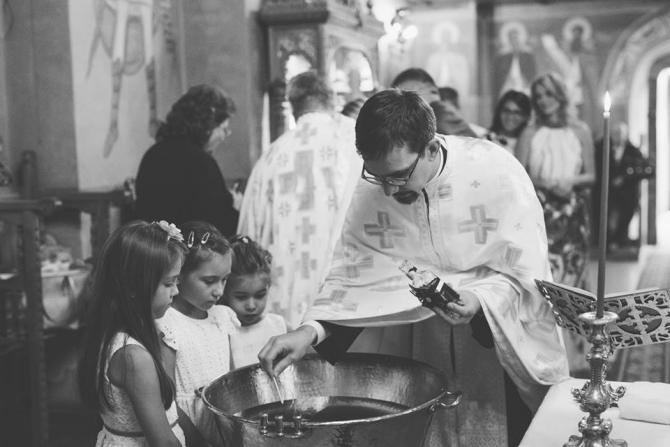 Alina Gorghiu, botez Noah
