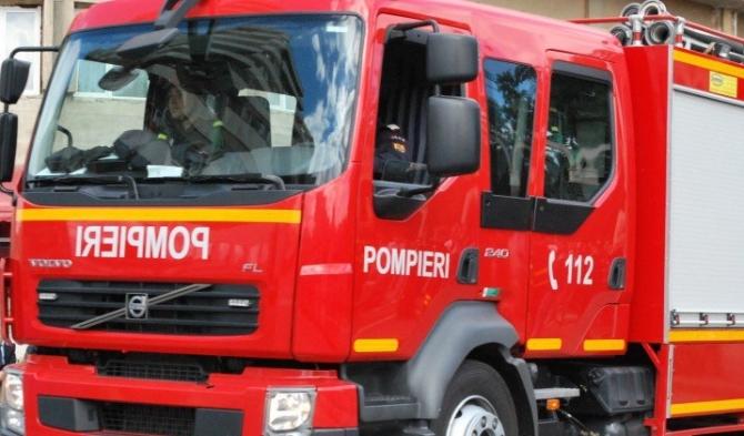Pompier rănit din cauza unui dispozitiv exploziv. IGSU, precizări