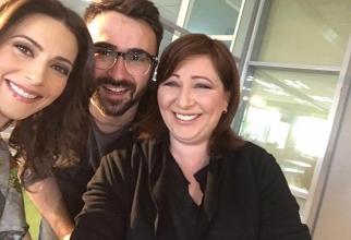 Ionuț Cristache, alături de Mirela Voicu și Andreea Berecleanu