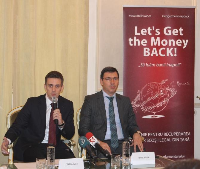 """Ionuț Mișa, alături de europarlamentarul Cătălin Ivan la seminarul """"Să luăm banii înapoi"""""""