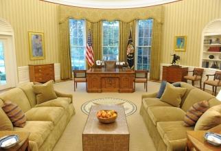 Aproape fiecare președinte a făcut schimbări în Biroul Oval de la Casa Albă