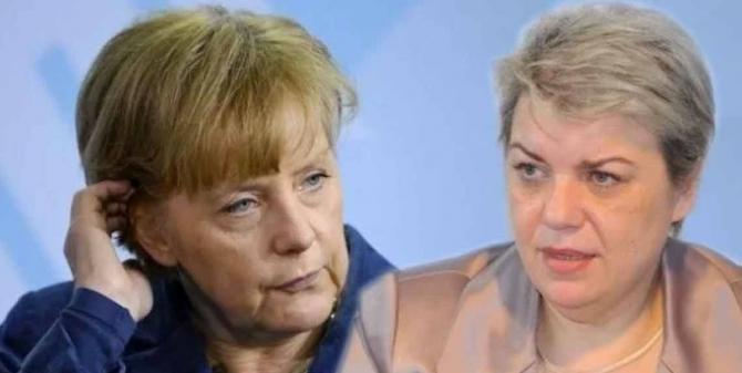 Angela Merkel - Sevil Shhaideh
