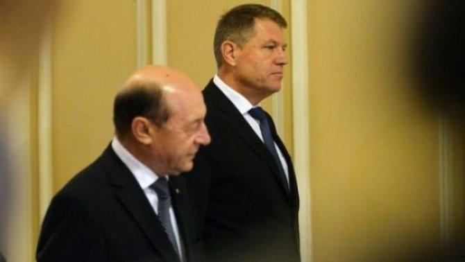 Traian Băsescu - Klaus Iohannis