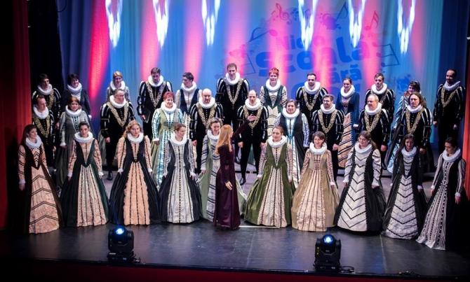 Corul Madrigal la Gala de încheiere a Festivalului Corurilor Școlare