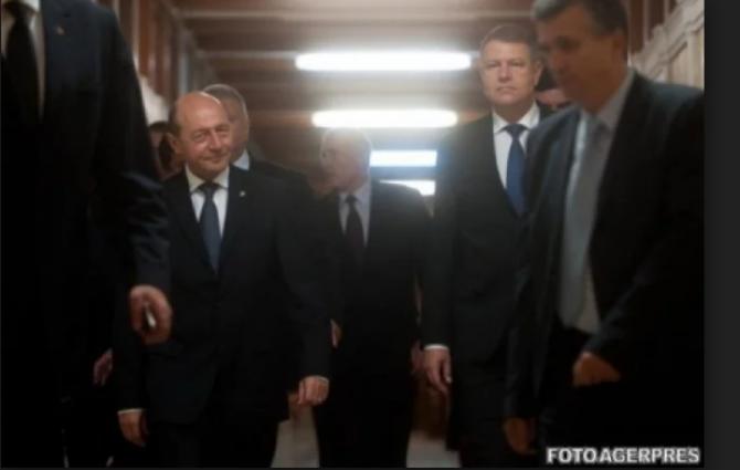 Traian Basescu - Klaus Iohannis