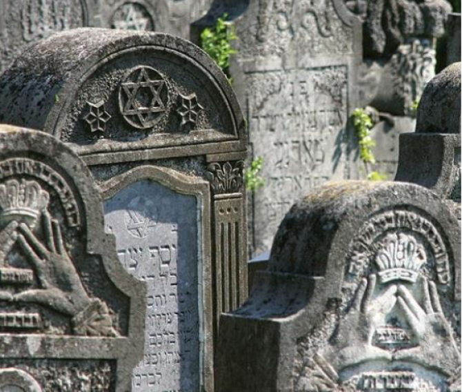 Cimitir evreiesc - foto simbol