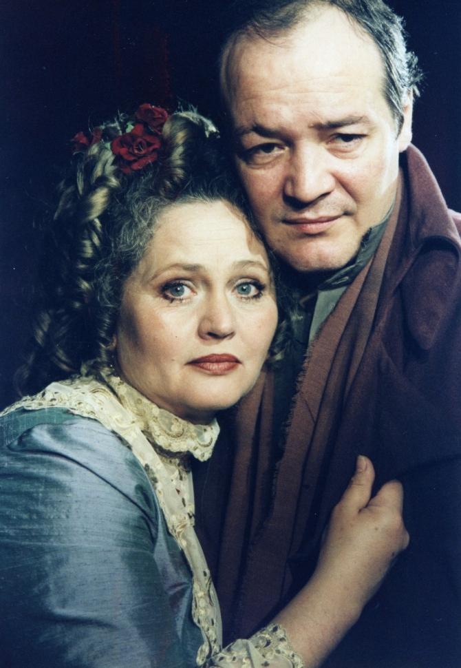 Diana Lupescu, George Alexandru în Jocul Dragostei și al morții