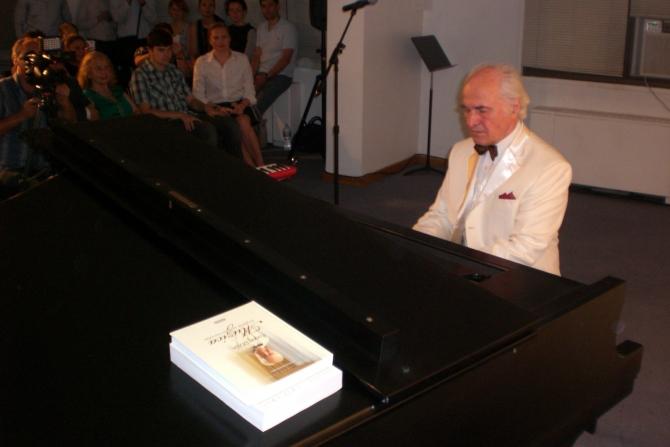 Eugen Doga interpretând propriile compoziții
