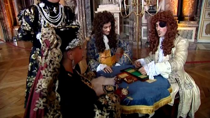 Jocul de cărți, una dintre distracțiile favorite ale nobililor, la Versailles