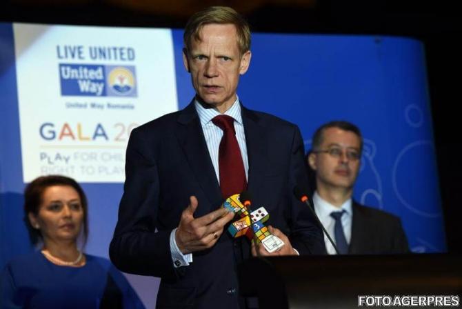 Preşedintele Raiffeisen foto Agerpres