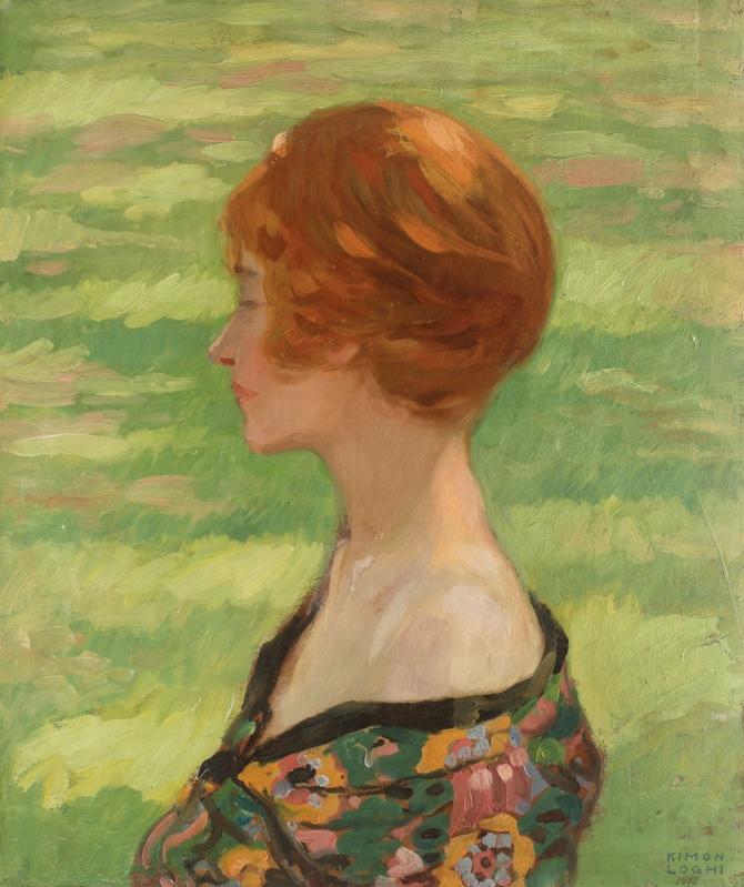 Kimon Loghi, Hermina (Portretul soției artistului)