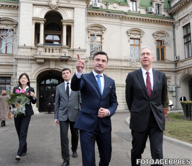 Parcului prieteniei româno-americane va fi inaugurat la Iaşi