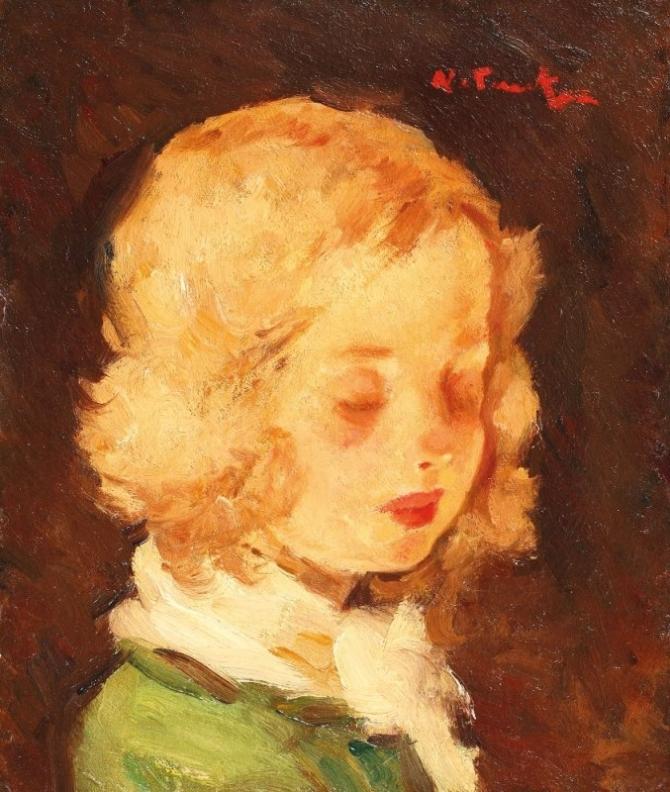 Nicolae Tonitza, Fetița blondă