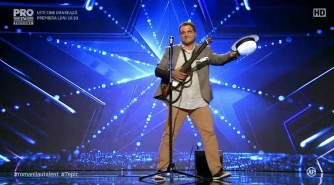 Victor Barbu, omul cu chitara, Romanii au talent