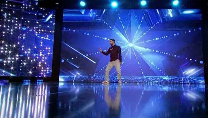 Romanii au talent 2017 Mohamed Irksousi